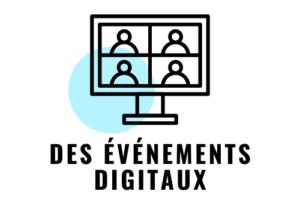 des événements digitaux