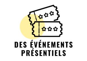 des événements présentiels